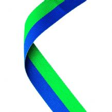 GREEN/BLUE RIBBON TWO COLOUR